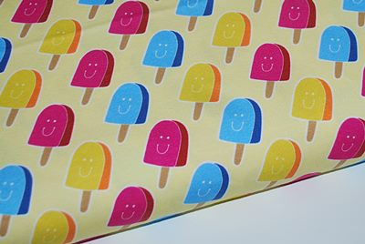 Jersey oko tex sweet life glaces hamburger Liebe Hilco - par 50 cm